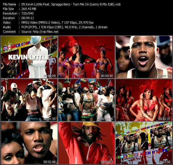 Kevin Lyttle Feat. Spragga Benz video vob