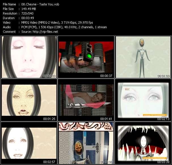 Screenshot of Music Video Cheyne - Taste You