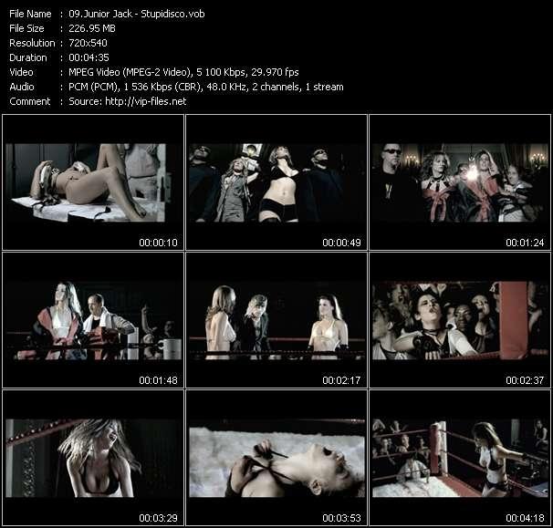 Screenshot of Music Video Junior Jack - Stupidisco