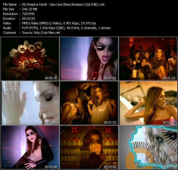 Despina Vandi видеоклип vob