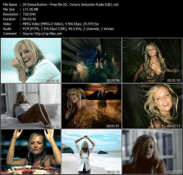 Screenshot of Music Video Emma Bunton - Free Me (Dr. Octavo Seduction Radio Edit)