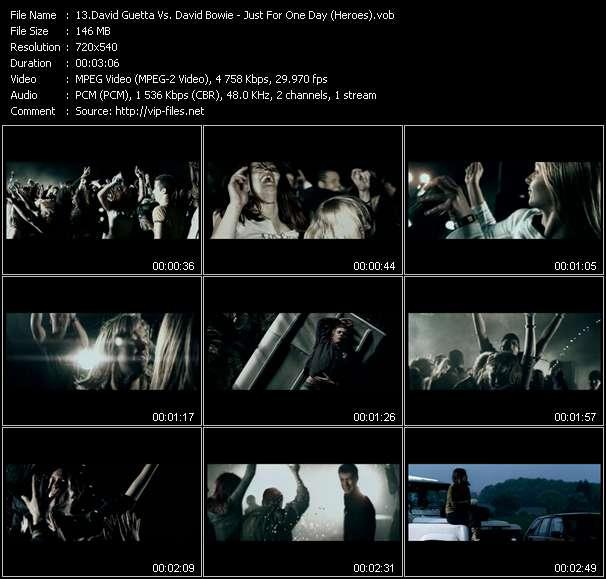 David Guetta Vs. David Bowie video vob