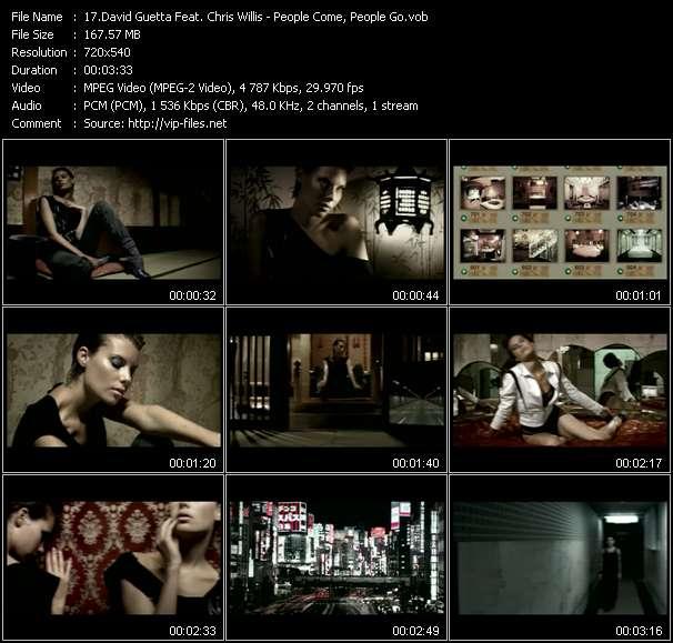 David Guetta Feat. Chris Willis video vob