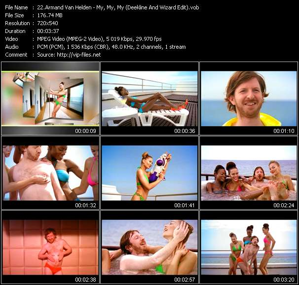 Armand Van Helden video vob