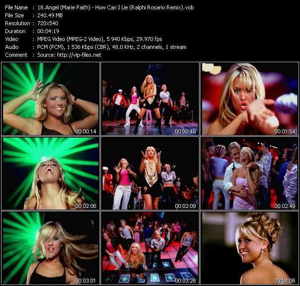 Angel (Marie Faith) video vob