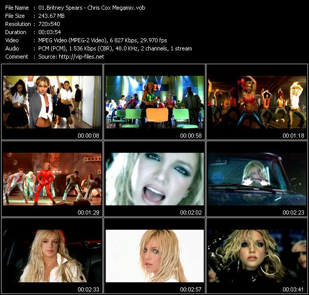 Britney Spears video vob