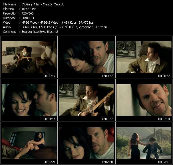 Screenshot of Music Video Gary Allan - Man Of Me