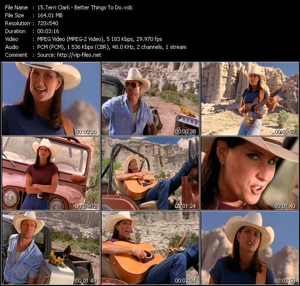 Terri Clark video vob