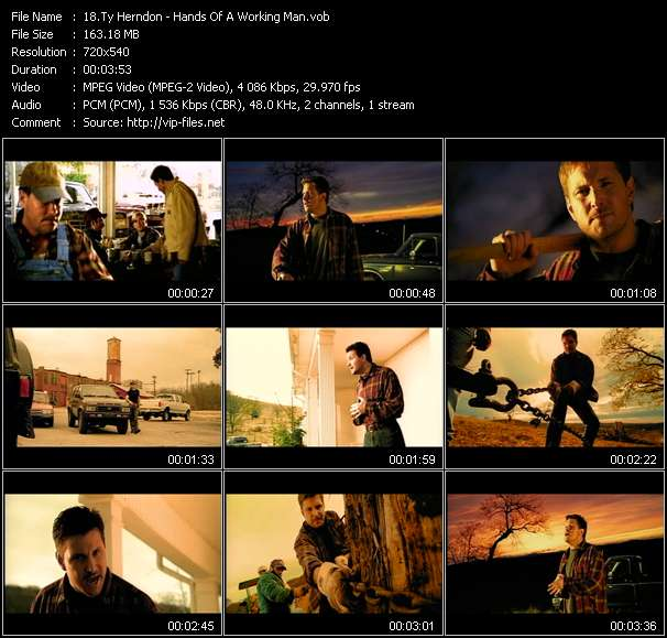Ty Herndon video vob