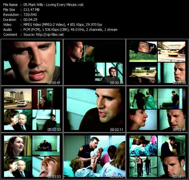Screenshot of Music Video Mark Wills - Loving Every Minute