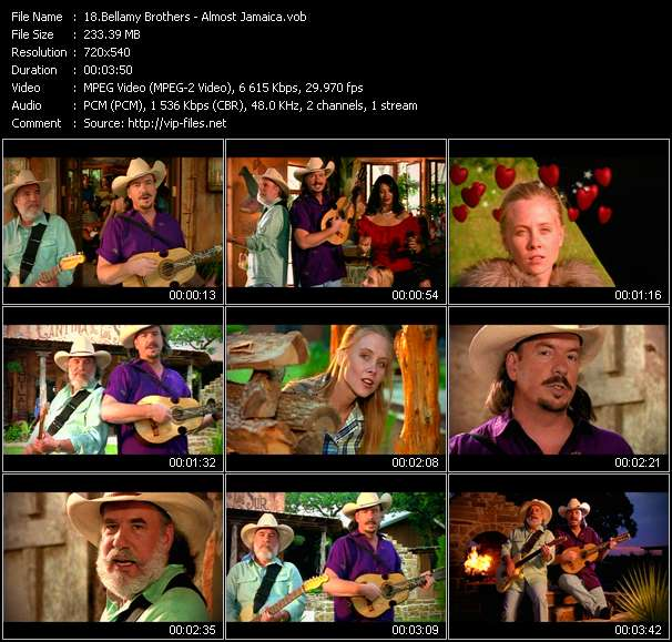 Bellamy Brothers clips musicaux vob