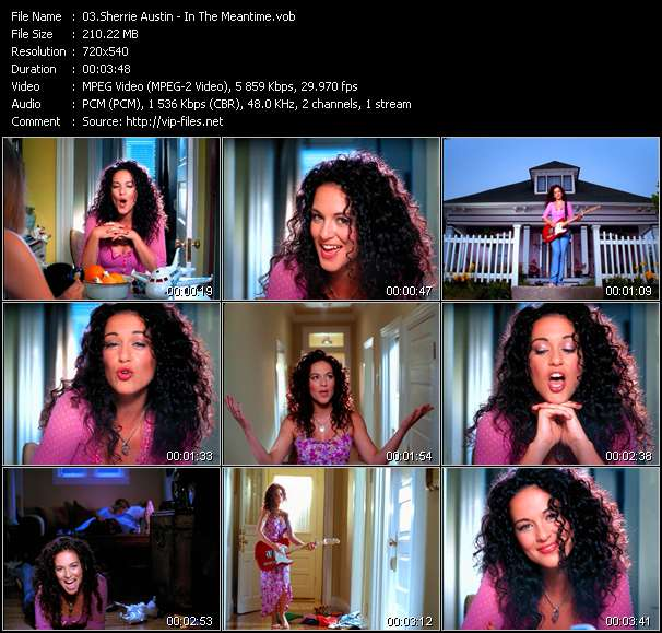 Screenshot of Music Video Sherrie Austin - In The Meantime