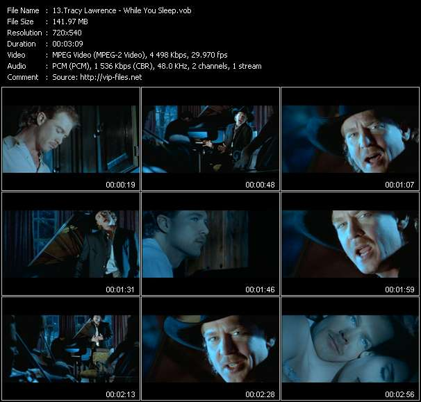 Tracy Lawrence video vob