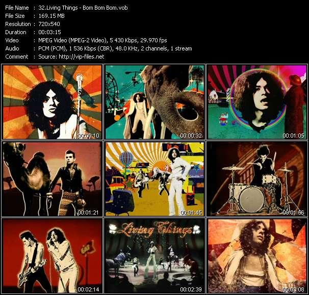 Screenshot of Music Video Living Things - Bom Bom Bom