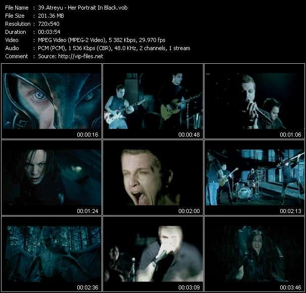 """Screenshot of Music Video Atreyu - Her Portrait In Black (From """"Underworld: Evolution"""")"""