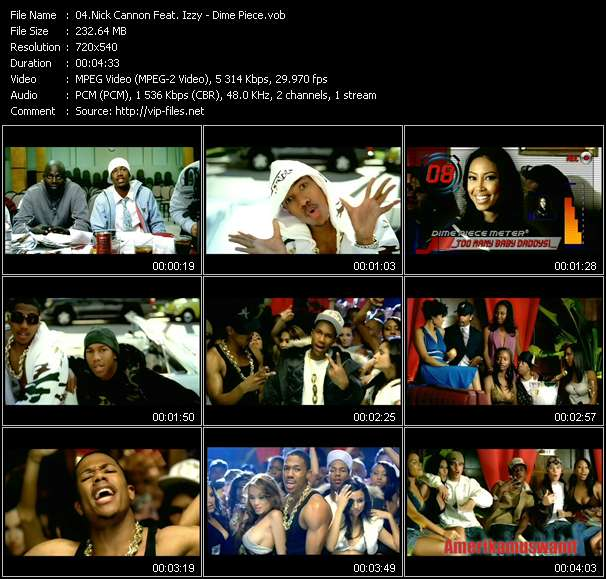 Nick Cannon Feat. Izzy video vob