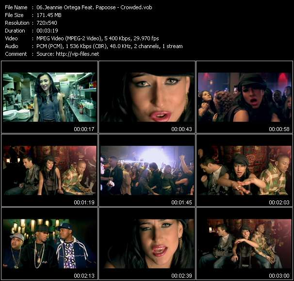 Jeannie Ortega Feat. Papoose video vob