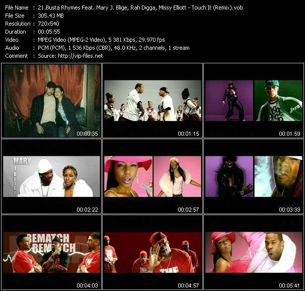 Busta Rhymes Feat. Mary J. Blige, Rah Digga, Missy Elliott, Lloyd Banks, Papoose And DMX video vob