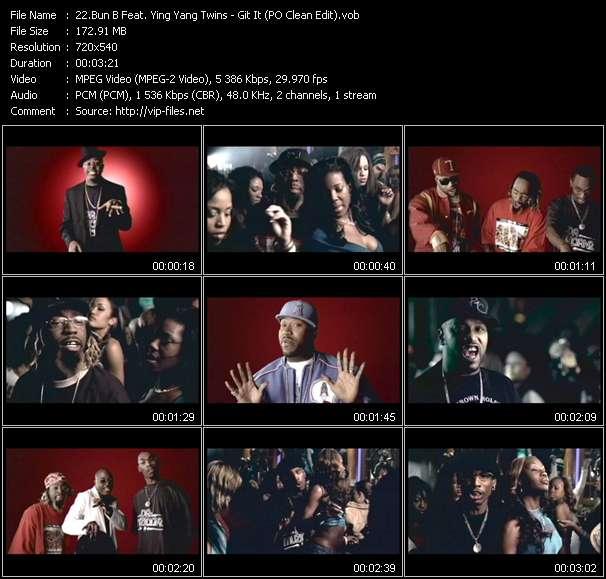 Bun B Feat. Ying Yang Twins video vob