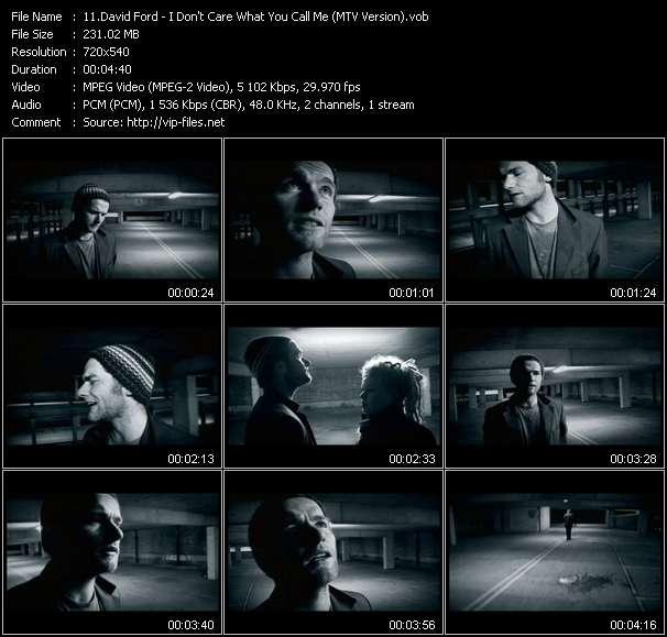 David Ford video vob