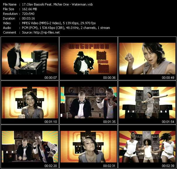 Olav Basoski Feat. Michie One video vob