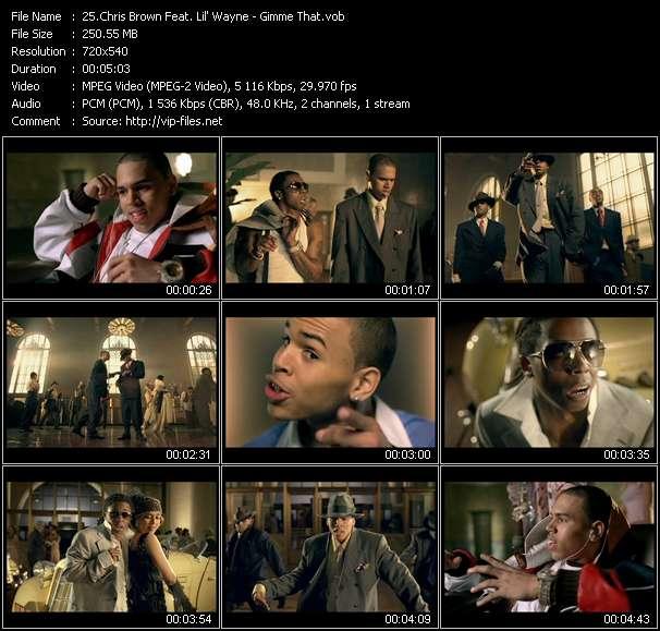Chris Brown Feat. Lil' Wayne video vob