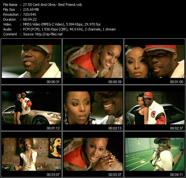 50 Cent And Olivia video vob