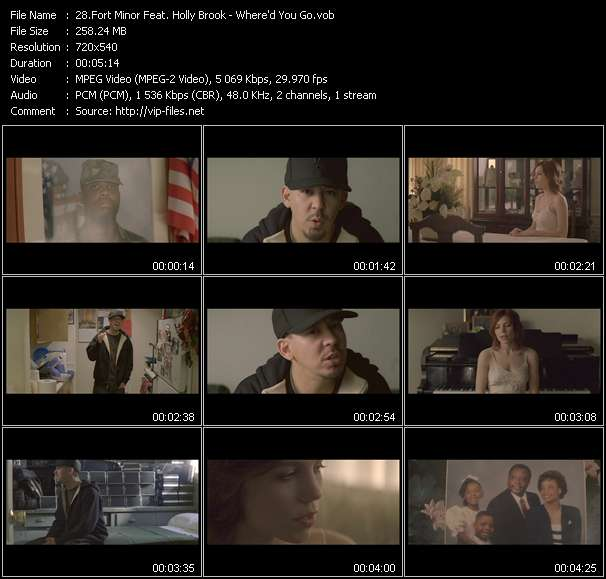 Fort Minor Feat. Holly Brook video vob