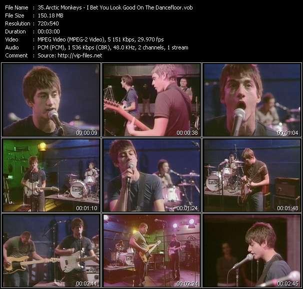 Arctic Monkeys video vob