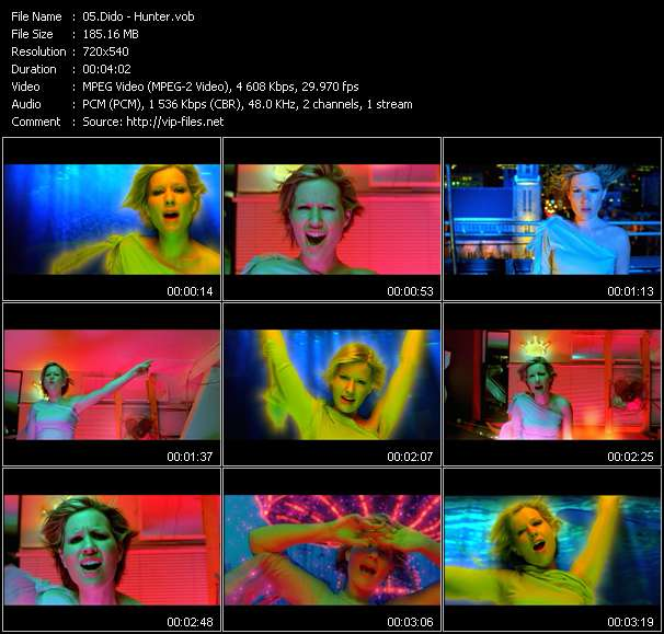 Dido video vob