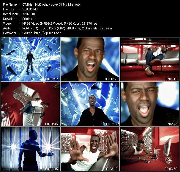 Brian McKnight video vob