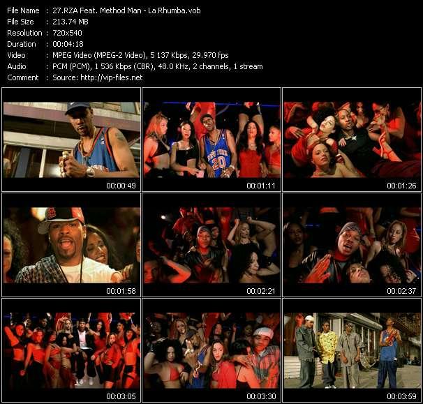 RZA Feat. Method Man video vob