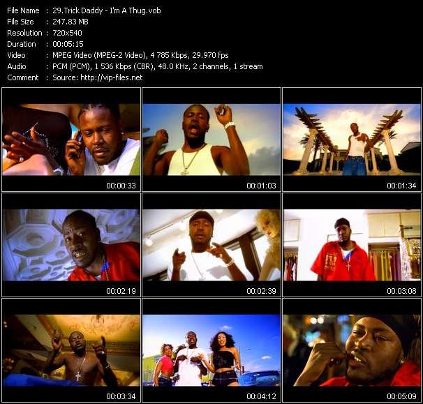 Screenshot of Music Video Trick Daddy - I'm A Thug
