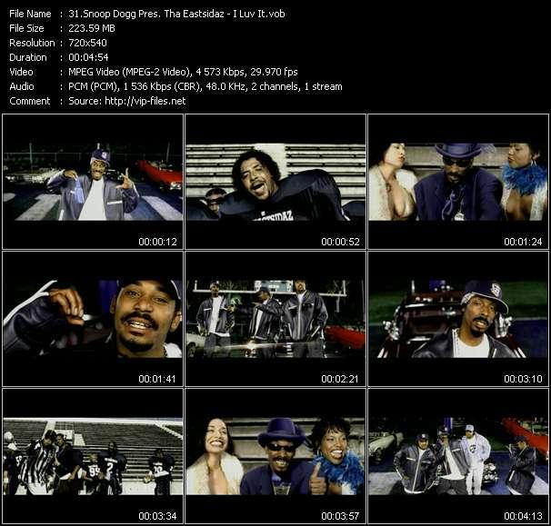 Screenshot of Music Video Snoop Dogg Pres. Tha Eastsidaz - I Luv It