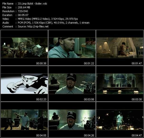 Screenshot of Music Video Limp Bizkit - Boiler