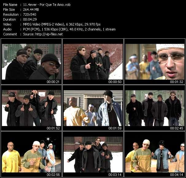 Screenshot of Music Video 4ever - Por Que Te Amo