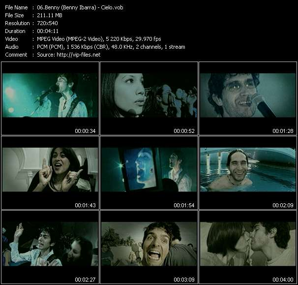 Screenshot of Music Video Benny Ibarra - Cielo