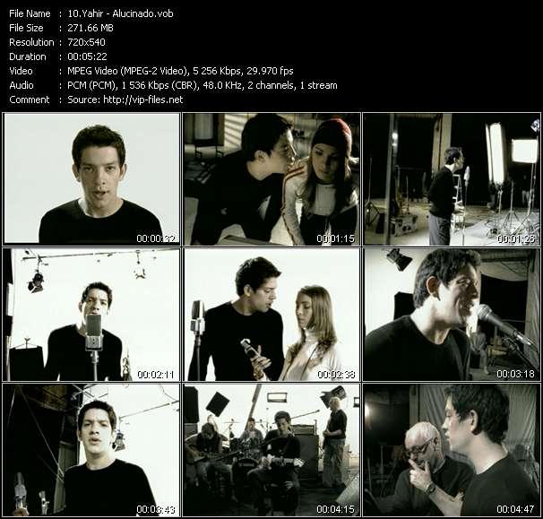 Screenshot of Music Video Yahir - Alucinado