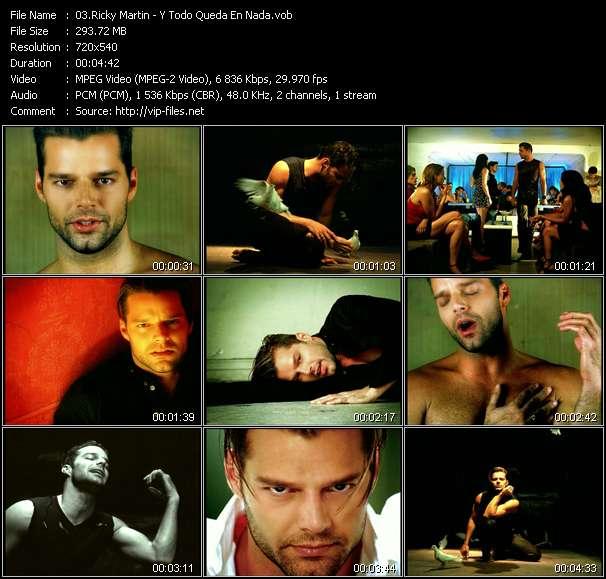 Ricky Martin clips musicaux vob