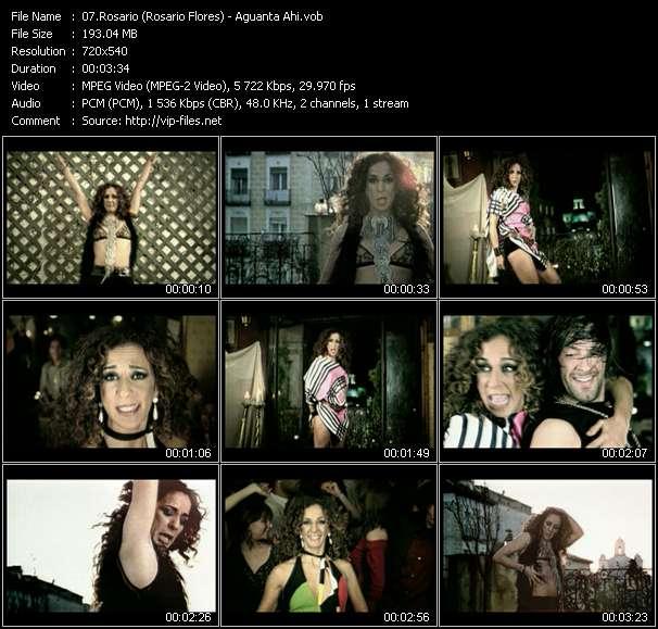 Rosario (Rosario Flores) video vob