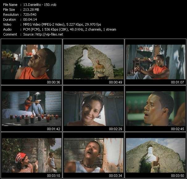Screenshot of Music Video Danielito - 150