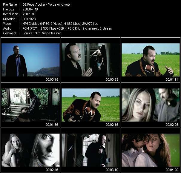 Screenshot of Music Video Pepe Aguilar - Yo La Amo
