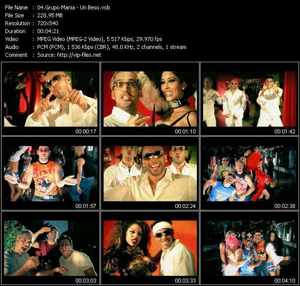 Grupo Mania video vob