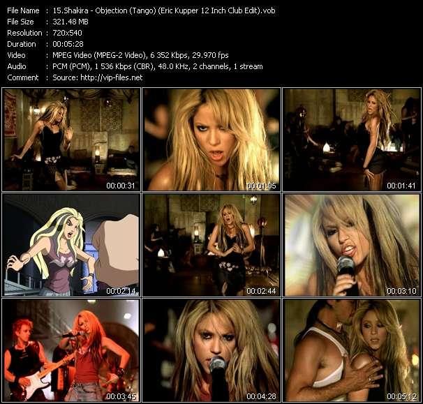 Shakira video vob