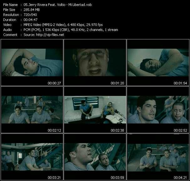 Screenshot of Music Video Jerry Rivera Feat. Voltio - Mi Libertad