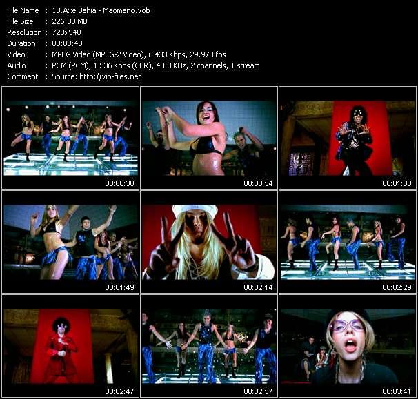 Screenshot of Music Video Axe Bahia - Maomeno