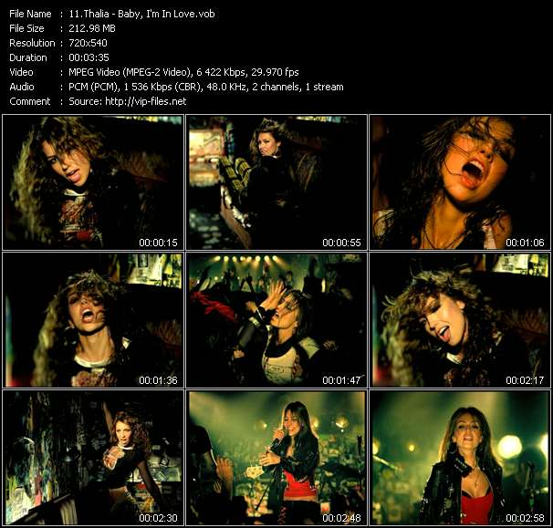 Thalia video vob