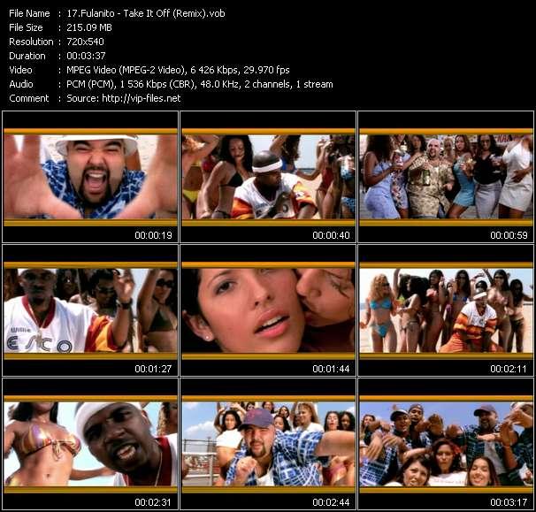 Fulanito видеоклип vob