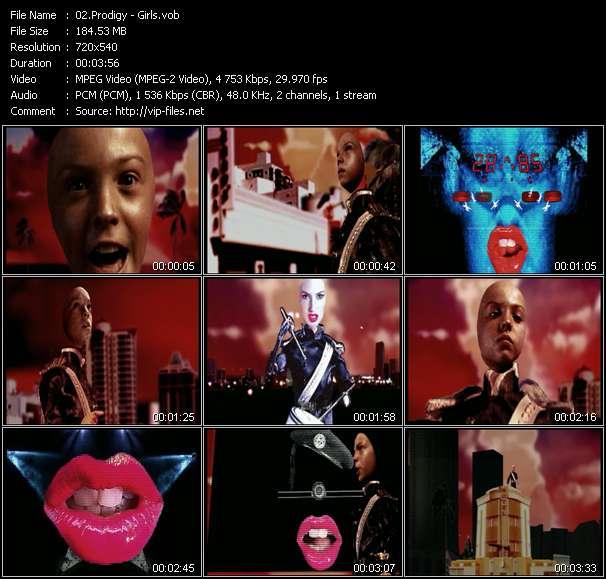 Prodigy video vob