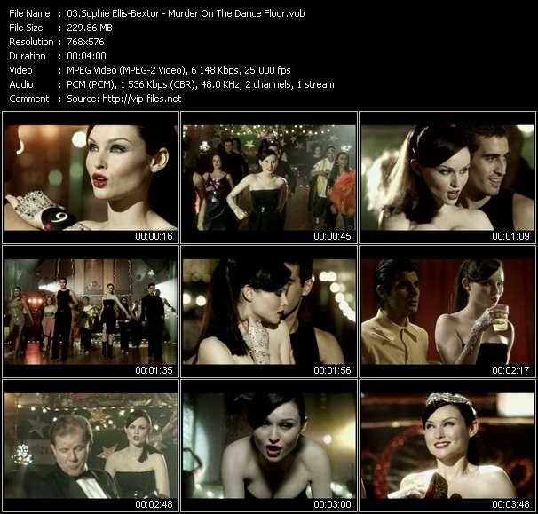Sophie Ellis-Bextor video vob